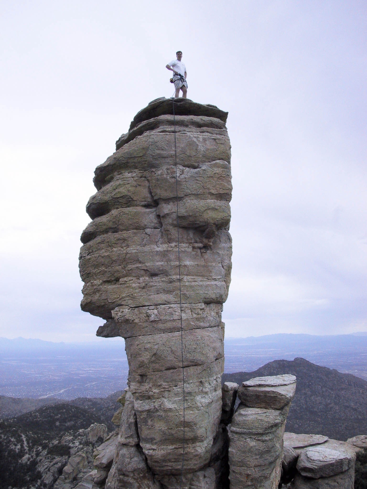 Glory days. Hitchcock Pinnacle, Mt Lemmon. Super easy but awesome views.